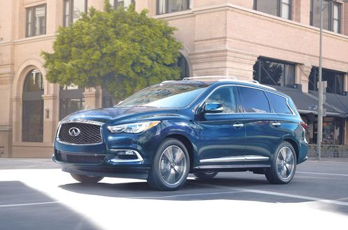 Infiniti QX80, QX60 offer smart technologies