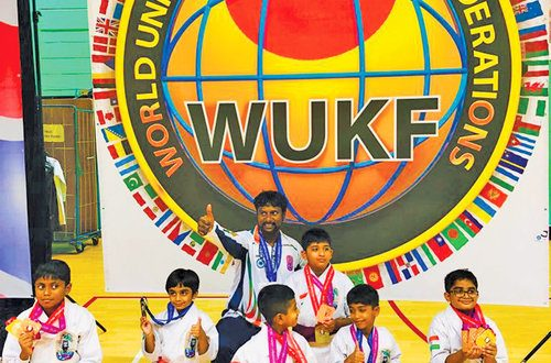 Team from Oman bags 15 medals in London karate championship