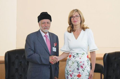 H E Alawi meets Bulgarian, Irish, Algerian officials on the sidelines of UN General Assembly meeting