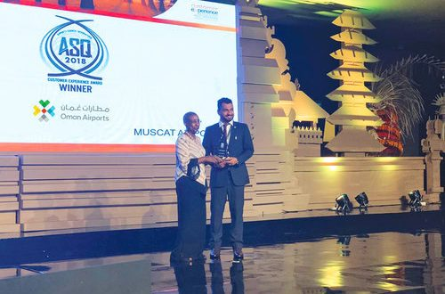 Muscat airport gets most improved award in Mideast