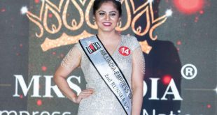 Muscat resident second runner-up at beauty pageant in India