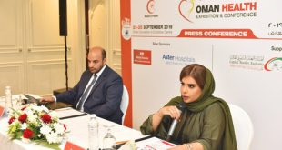 Oman Health Exhibition and Conference from Sept 23