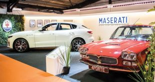Past, present of V8 engine Maserati cars at Goodwood Revival event