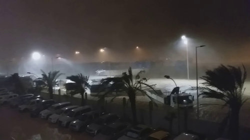 Tropical storm Hikaa dumps rain in Al Wusta; flooding in Duqm