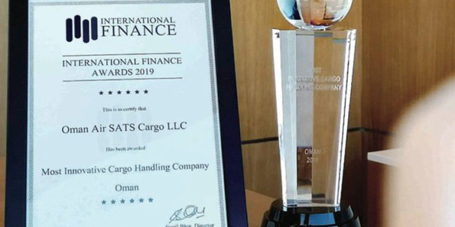 OAS Air Cargo wins prestigious award