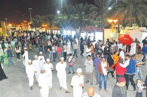 Thousands visit festival venues over three days