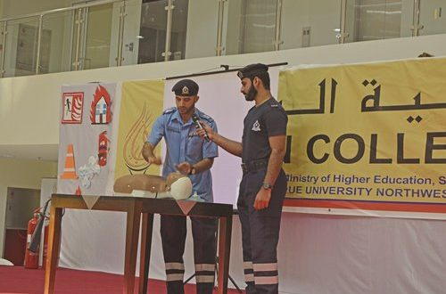 Bayan College conducts fire and safety training