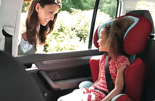 Demand for child car seats goes up as new traffic rules come into force from March 1