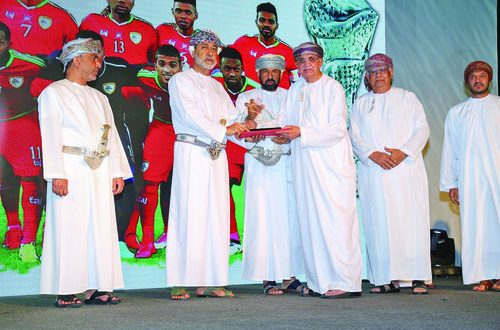 Khimji Ramdas honoured by Ministry of Sports Affairs