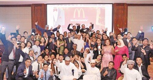McDonald's hosts annual staff party as part of 'people' strategy