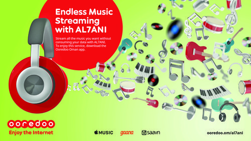 Ooredoo's AL7ANI gives music lovers endless music streaming