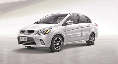 Own affordable BAIC A115 sedan with low EMI, manufacturer's warranty