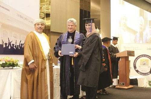 Modern College of Business and Science holds 24th Commencement Ceremony of 70 students